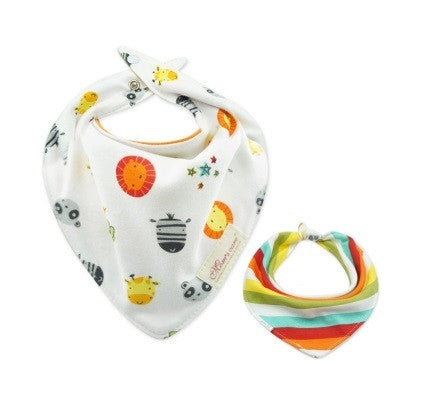 Baby Bandana Drool Mom's Care Reversible Bibs A321IG