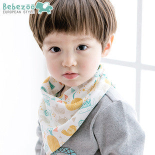 Bebezoo Bandana Drool Bib with Adjustable Snaps A321KB