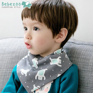 Bebezoo Bandana Drool Bib with Adjustable Snaps A321KC