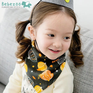 Bebezoo Bandana Drool Bib with Adjustable Snaps A321KD