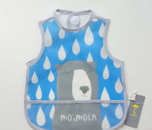 Korean Fashion Moimoln Baby Food Catcher Bib A321MA