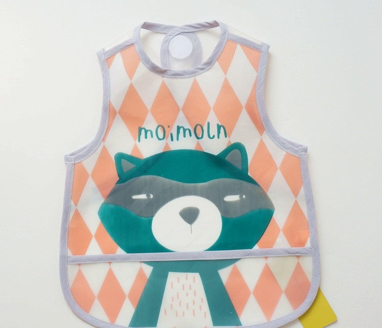 Korean Fashion Moimoln Baby Food Catcher Bib A321MB