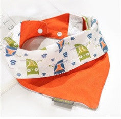 Baby Bandana Drool Triangle Reversible Bibs A321RE