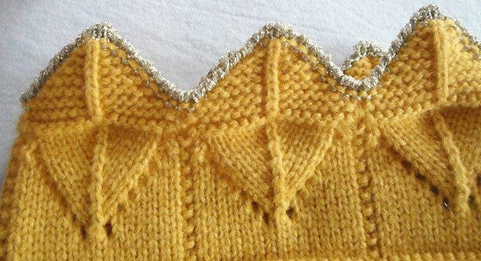 Baby/ Toddler Yellow Cotton Crown A323C2B