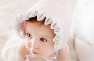 Baby Girl Bonnet A3247A