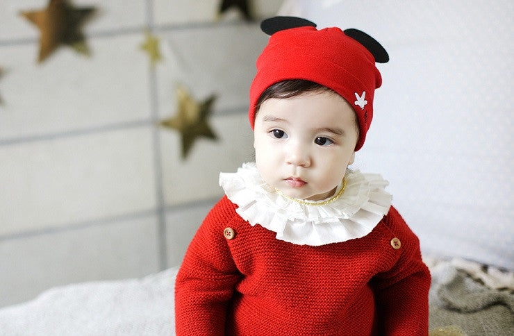 Baby/ Toddler Cotton Beanie A3248A