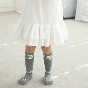 0-6Y Baby/ Kids Knee High Long Socks A3251L14