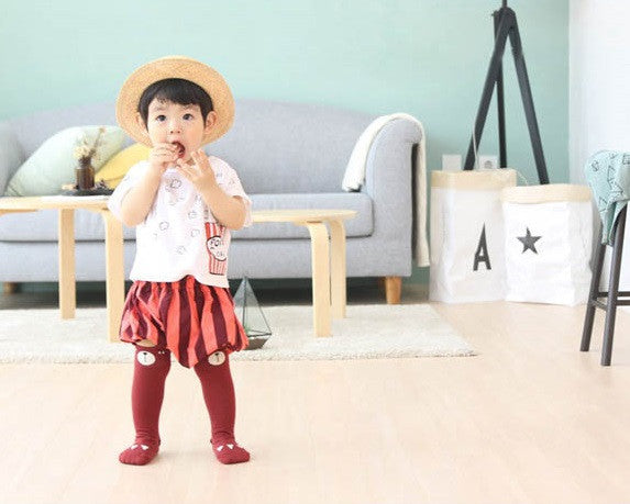 0-4Y Baby/ Kids Knee High Long Socks A3251L3