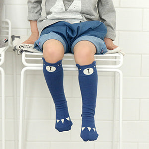 0-4Y Baby/ Kids Knee High Long Socks A3251L4