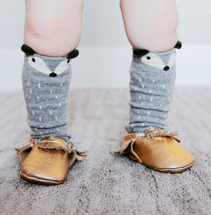 0-4Y Baby/ Kids Knee High Long Socks A3251L5