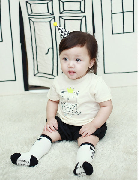0-4Y Baby/ Kids Knee High Long Socks A3251L7