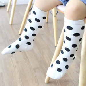 0-4Y Baby/ Kids Knee High Long Socks A3251L8