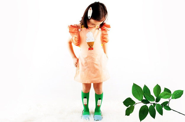 0-6Y Baby/ Kids Knee High Long Socks A3252L19