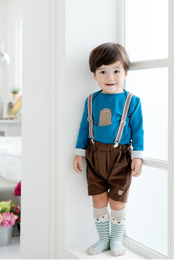 0-4Y Baby/ Kids Knee High Long Socks A3252L2