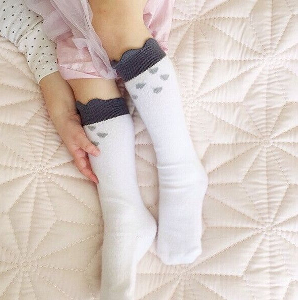 0-4Y Baby/ Kids Knee High Long Socks A3252L5