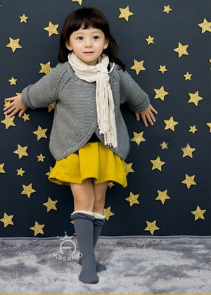 0-4Y Baby/ Kids Knee High Long Socks A3252L7