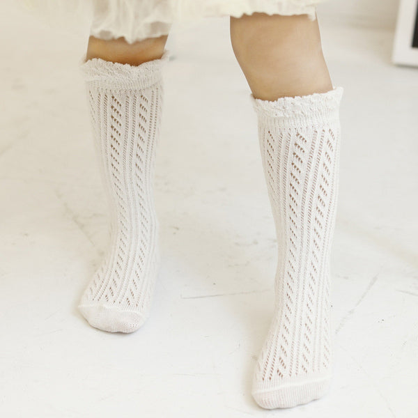 0-4Y Baby/ Kids Knee High Long Socks A3253L20