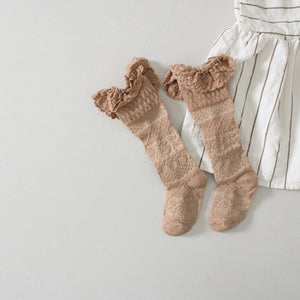 0-6Y Knee High Long Socks A3255L5