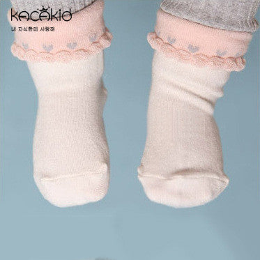 0-4Y Baby/ Kids Ankle Socks A325S3D