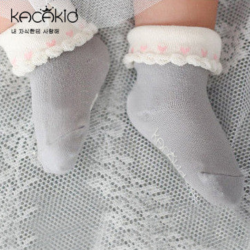 0-4Y Baby/ Kids Ankle Socks A325S3E