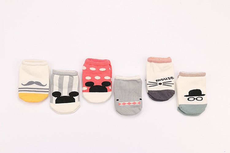 0-4Y Baby/ Kids Ankle Socks A325S6F