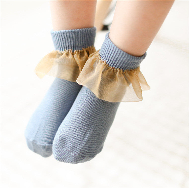 0-4Y Baby/ Kids Ankle Socks A325S7D