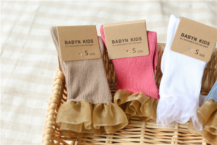 0-6Y Baby/ Kids Ankle Socks A325S7H