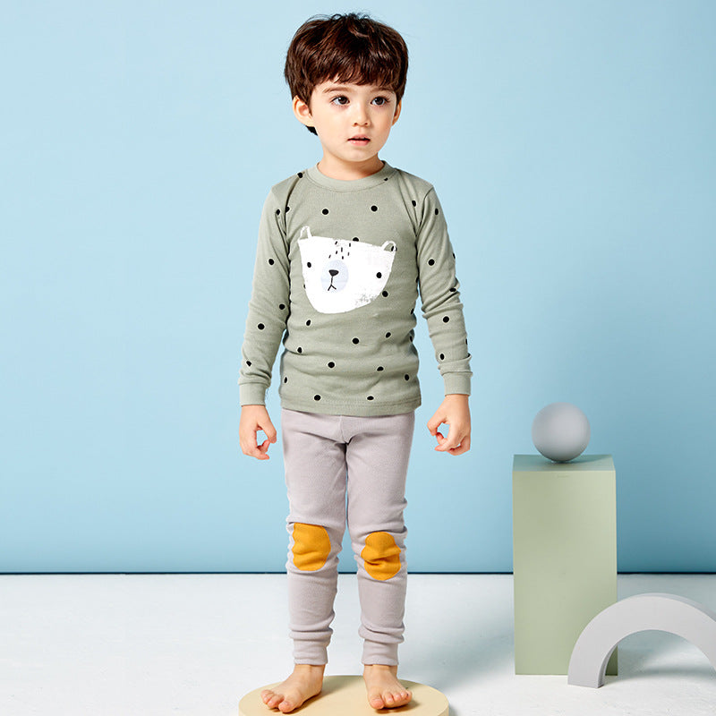 2-8Y Kid Pyjamas 2pcs Set A40421A