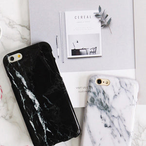 Best Selling iPhone Marble Case White/ Black
