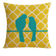 Flannel Double Sided Printed Cushion Covers A652A