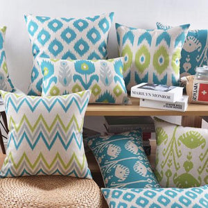 Flannel Double Sided Printed Cushion Covers A656E