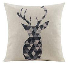 Flannel Double Sided Printed Cushion Covers A665J