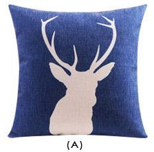Flannel Double Sided Printed Cushion Covers A666A