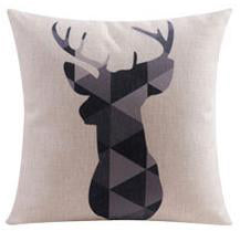 Flannel Double Sided Printed Cushion Covers A673H
