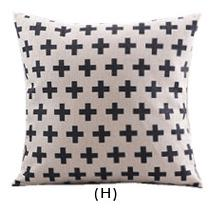 Flannel Double Sided Printed Cushion Covers A677H