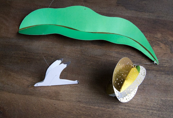 DIY Mobile Ornament Set BENTOY Flying Bird A702F