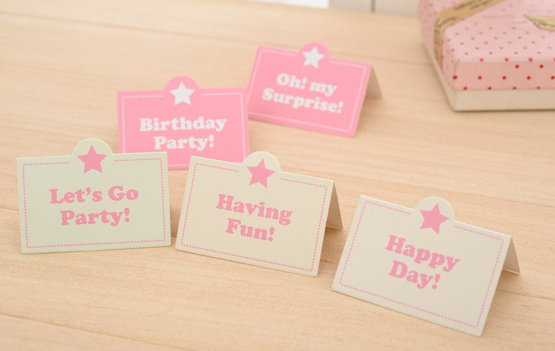 Party Package Set Happy Birthday Pink A710A / Blue A710B