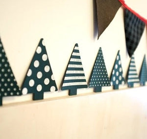 3pcs Christmas Tree Wall Decal A722M