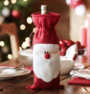 1pc/set Christmas Tableware Christmas Wine Bottle Cover A725F