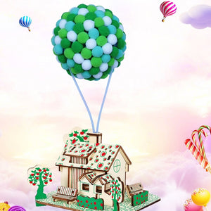 Make Your Own Flying House DIY Kit AC3022D