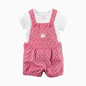 2-Piece Tee & Shortalls Set B20221B