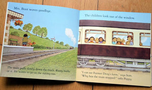 Children Usborne Story Book Dolly and the Train BK1031D