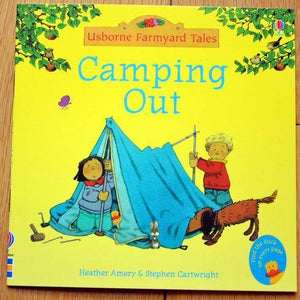 Children Usborne Story Book Camping Out BK1031G