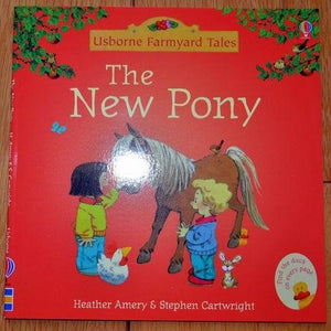 Children Usborne Story Book The New Pony BK1031H