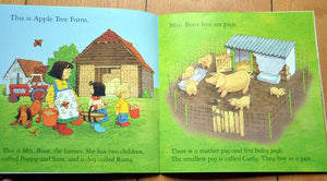 Children Usborne Story Book Pig Gets Lost BK1031J