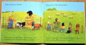 Children Usborne Story Book The Silly Sheepdog BK1031K