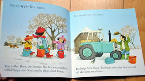 Children Usborne Story Book Tractor in Trouble BK1031L