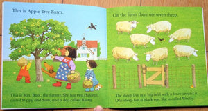 Children Usborne Story Book The Naughty Sheep BK1031O