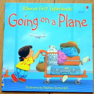 Children Usborne Story Book Going on a Plane BK1031Q