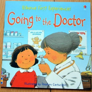 Children Usborne Story Book Going to the Doctor BK1031S